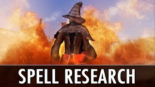 Skyrim Mod: Spell Research