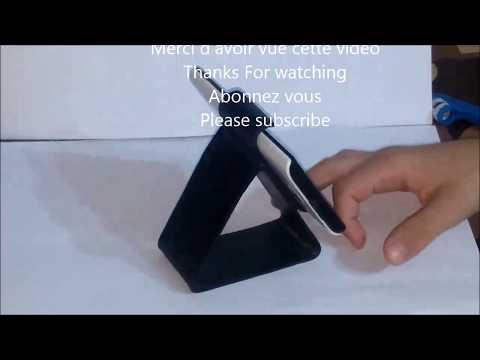 COMMENT FAIRE un simple support de téléphone,  Diy phone stand for Iphone X , Samsung galaxy …