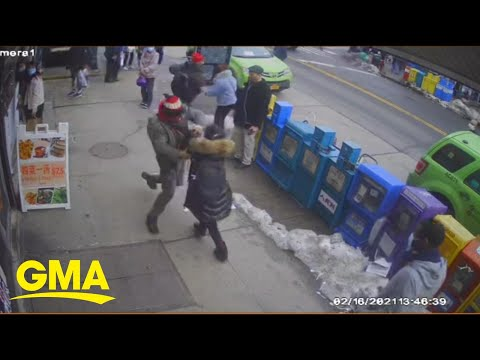 Man who allegedly attacked Chinese woman on NY street arrested | GMA