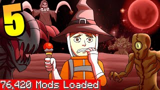 Minecraft but I downloaded every single mod again again 5