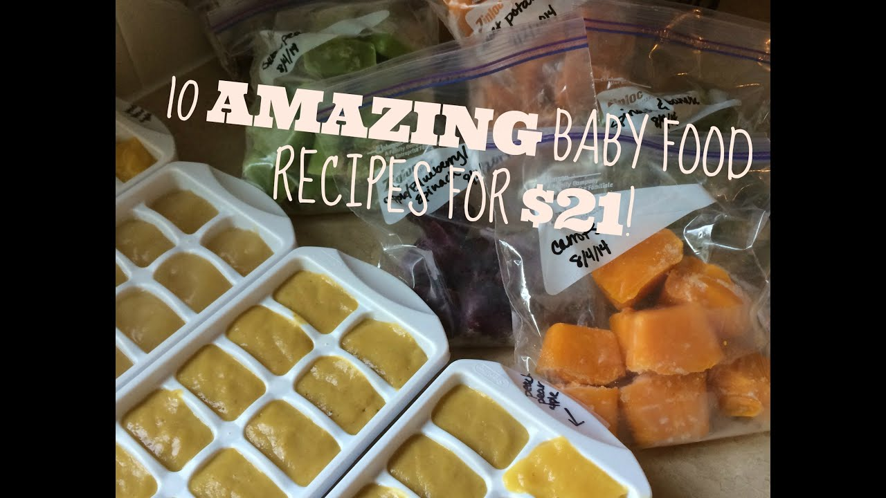 How Long Can You Freeze Homemade Baby Food