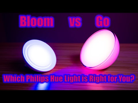 Philips Hue Bloom Vs Go Review and Comparison