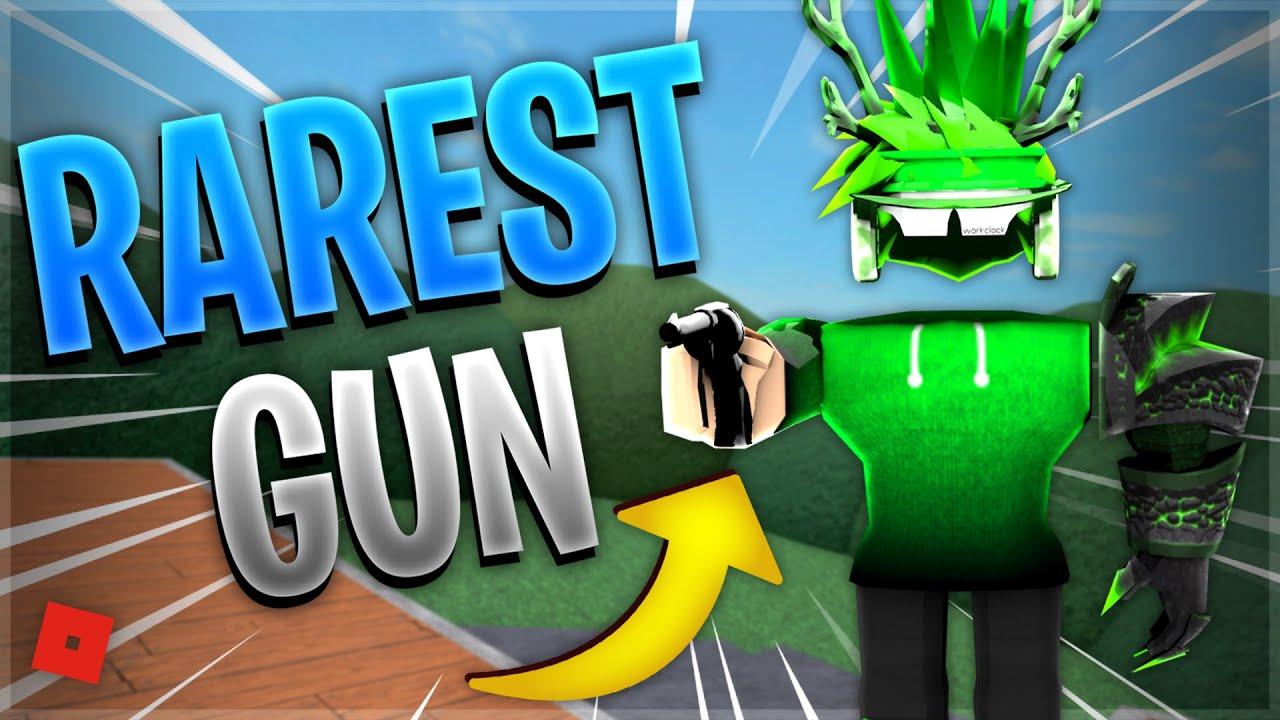 Top 10 RAREST Guns in MM2... (Roblox Murder Mystery 2)