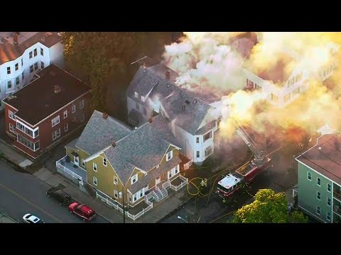 Deadly gas blasts destroy homes, kills teenager north of Boston