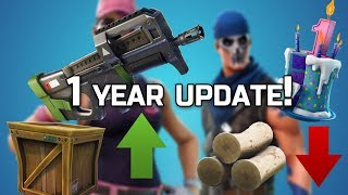 Wood Gets A NERF! PLAYGROUND is BACK! Supply DROPS BUFFED? Fortnite v5.10 Patch Note Details