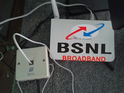BSNL DSL Broadband Internet Installation Process -  VLOG #