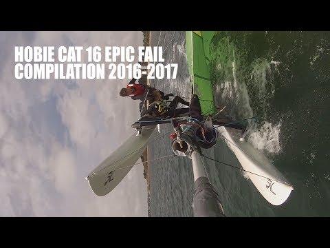 HOBIE CAT 16 FAIL COMPILATION [FULL HD]