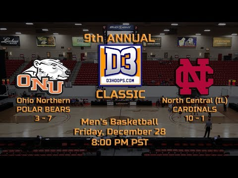 D3hoops.com Classic (MBB): North Central vs. Ohio Northern