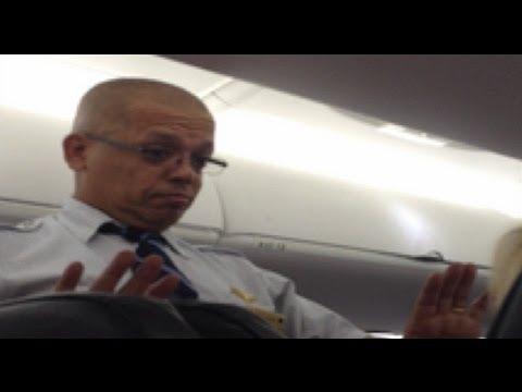 Raw Video: Flight attendant rants over intercom - New York Post