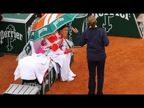 French Open begins as top players grumble over cold weather - CNN