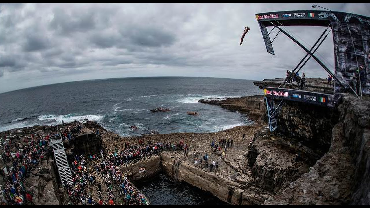 WATCH: Red Bull Cliff Diving World Series 2017 kicked off on picturesque  Inis Mór, Ireland