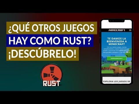 ¿Qué Otros Juegos hay como Rust? - Juegos tipo Rust para Pasar Horas Jugando