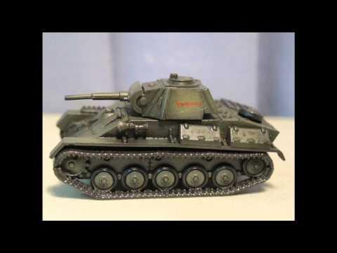 Plastic Soldier Company 1:72 T-70 tank