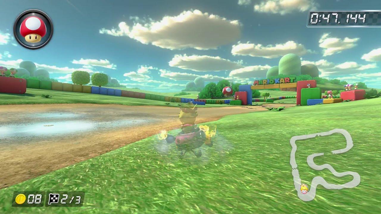 SNES Donut Plains 3 [150cc] - 1:13.932 - Braydon (Mario Kart 8 Deluxe World Record)
