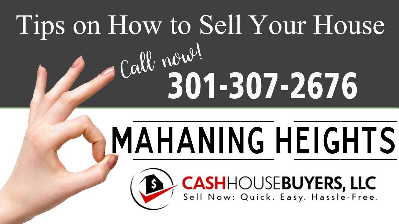 Tips Sell House Fast Mahaning Heights Washington DC | Call 3013072676 | We Buy Houses