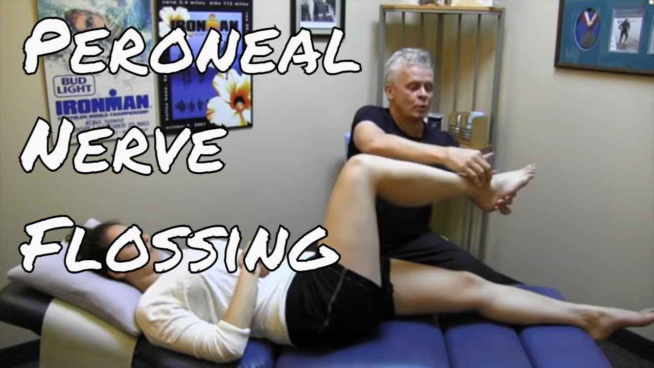 peroneal nerve - flossing and tensioning - kinetic health - youtube, Muscles