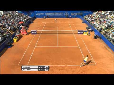 EUGENIE BOUCHARD WINS WTA TITLE