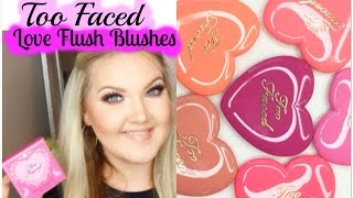 ★TOO FACED LOVE FLUSH 16 HR BLUSHES★
