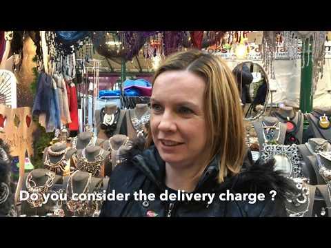 Santa savings on online delivery of toy orders