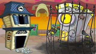 СУПЕР БОСС ЗА РЕШЕТКОЙ! Tower Conquest игровой мультфильм для детей про БОИ и СРАЖЕНИЯ на АРЕНЕ
