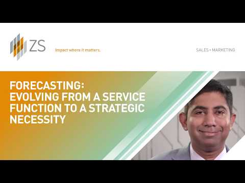 Forecasting: Evolving From a Service to a Strategic Necessity