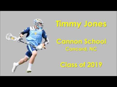 Timmy Jones - Class of 2019 - Cannon School - Concord, NC