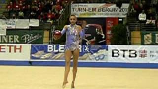 Выступление Евгении Канаевой в Германии(Выступление абсолютной чемпионки мира Евгении Канаевой в Германии. Выступление с мячом., 2010-04-14T07:05:54.000Z)