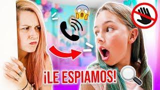 ESPIAMOS A ELAIA en SU HABITACIÓN y PASA ESTO 😱LE PILLAMOS ¡CÁMARA OCULTA! - Familia Carameluchi
