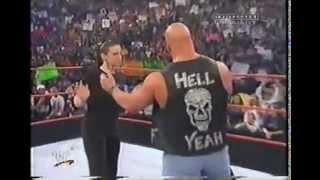 Stone Cold Steve Austin & Stephanie McMahon segment WWF Raw