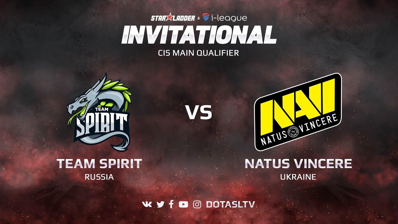 Team Spirit против Natus Vincere, Первая карта, CIS квалификация SL i-League Invitational S3