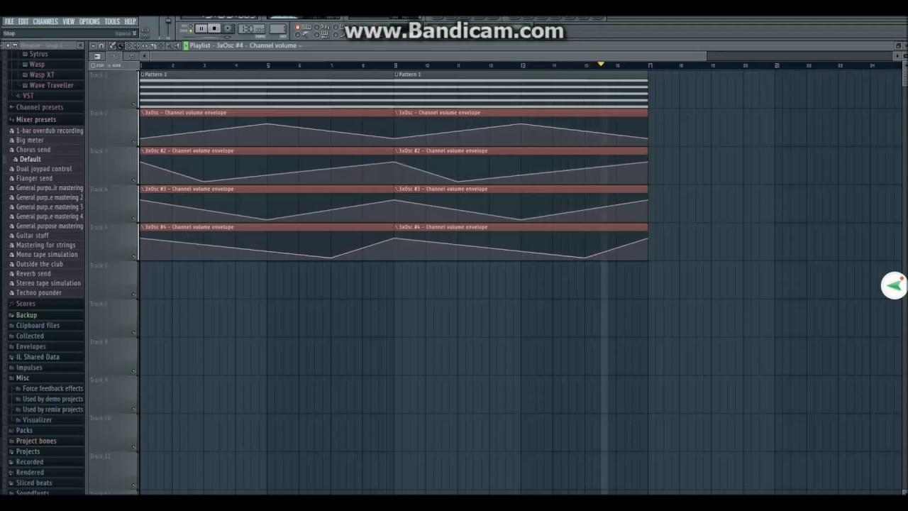 Shepard Tone in FL Studio (Audio Illusion) | Rising tone ...  Shepard Tone in...