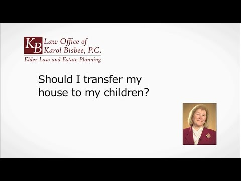 Should I Transfer Assets to my Children? | Stoneham, MA | Law Office of Karol Bisbee