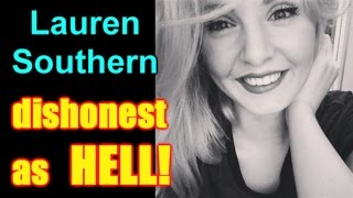 Lauren Southern: YES DISHONEST AS HELL!