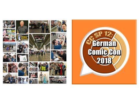 "CC SP 12: ""German Comic Con Frankfurt 2018"""