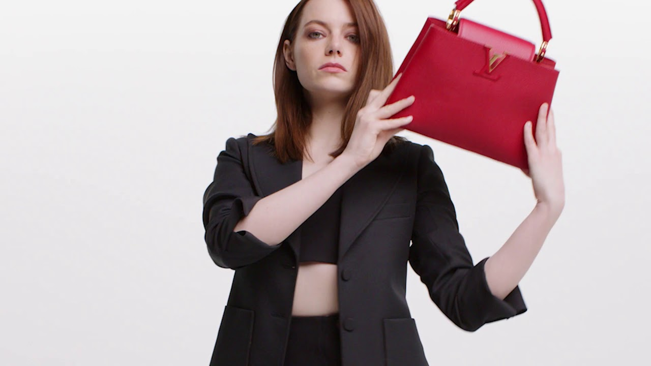 3e4a292a1c99 Louis Vuitton Handbag Campaign (featuring Emma Stone