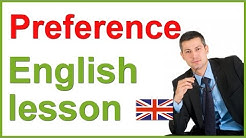 Expressing PREFERENCES | English lesson