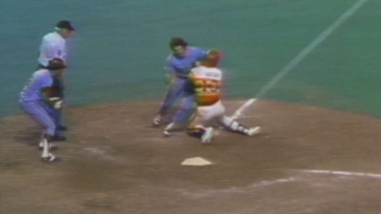 1980 NLCS Gm4 Rose Scores Go Ahead Run In The 10th