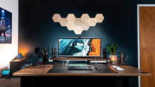 The DREAM Desk Setup and Office Tour - Modern & Simple!