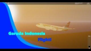 [ROBLOX] Garuda Indonesia Flight! | Silampari - Batam | Business Class (off Duty)