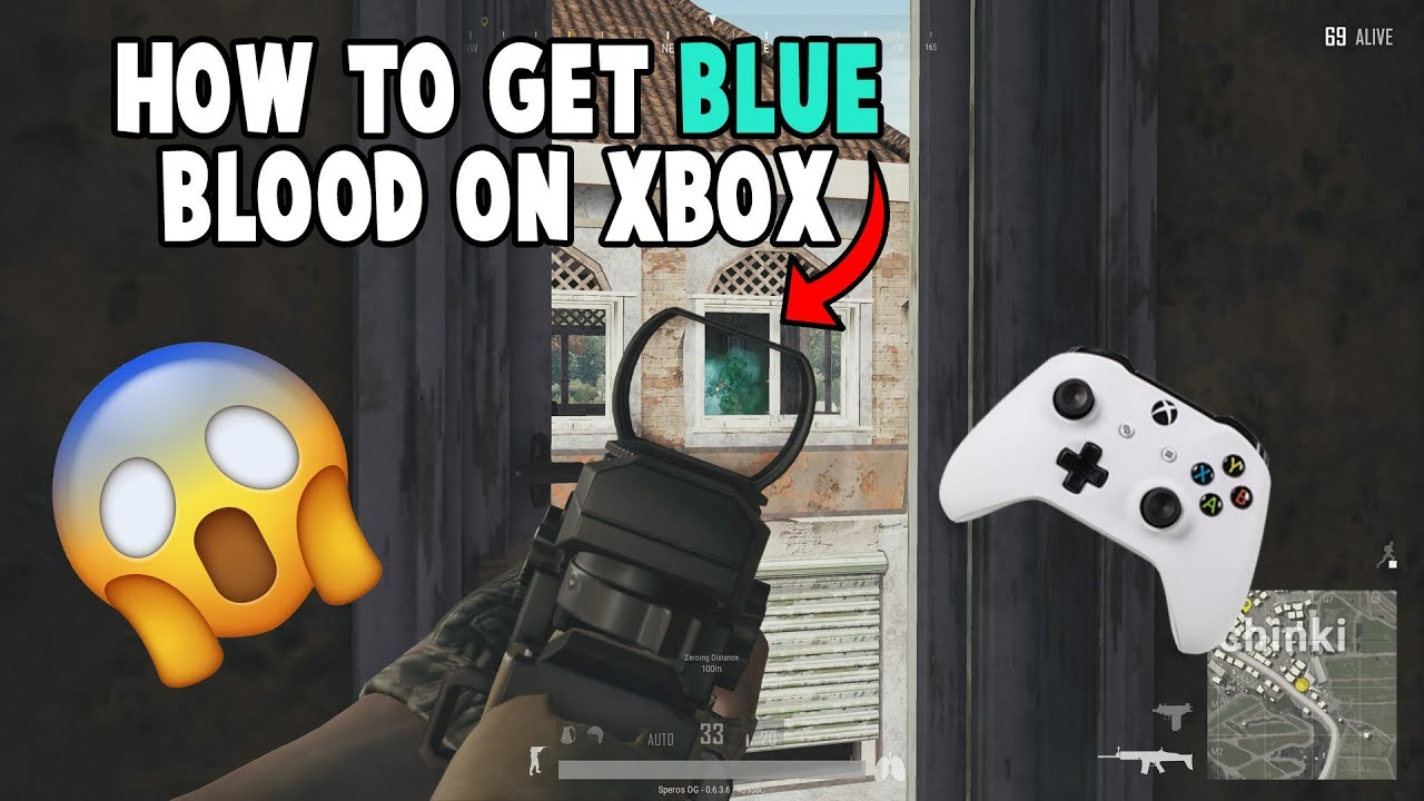 Blue blood on Xbox - Game Discussion & Feedback - PLAYERUNKNOWN'S