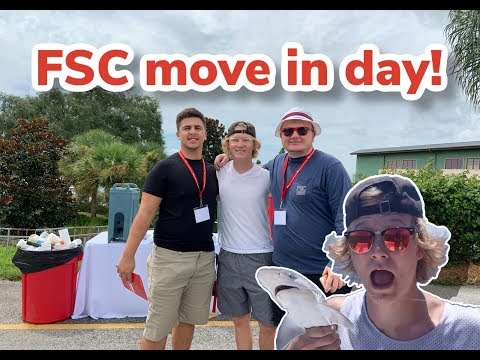 Florida Southern College Freshman Move in day