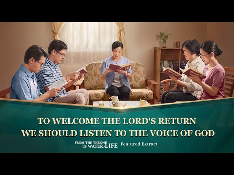"Gospel Movie clip ""From the Throne Flows the Water of Life"" (3) - God's Sheep Hear the Voice of God"
