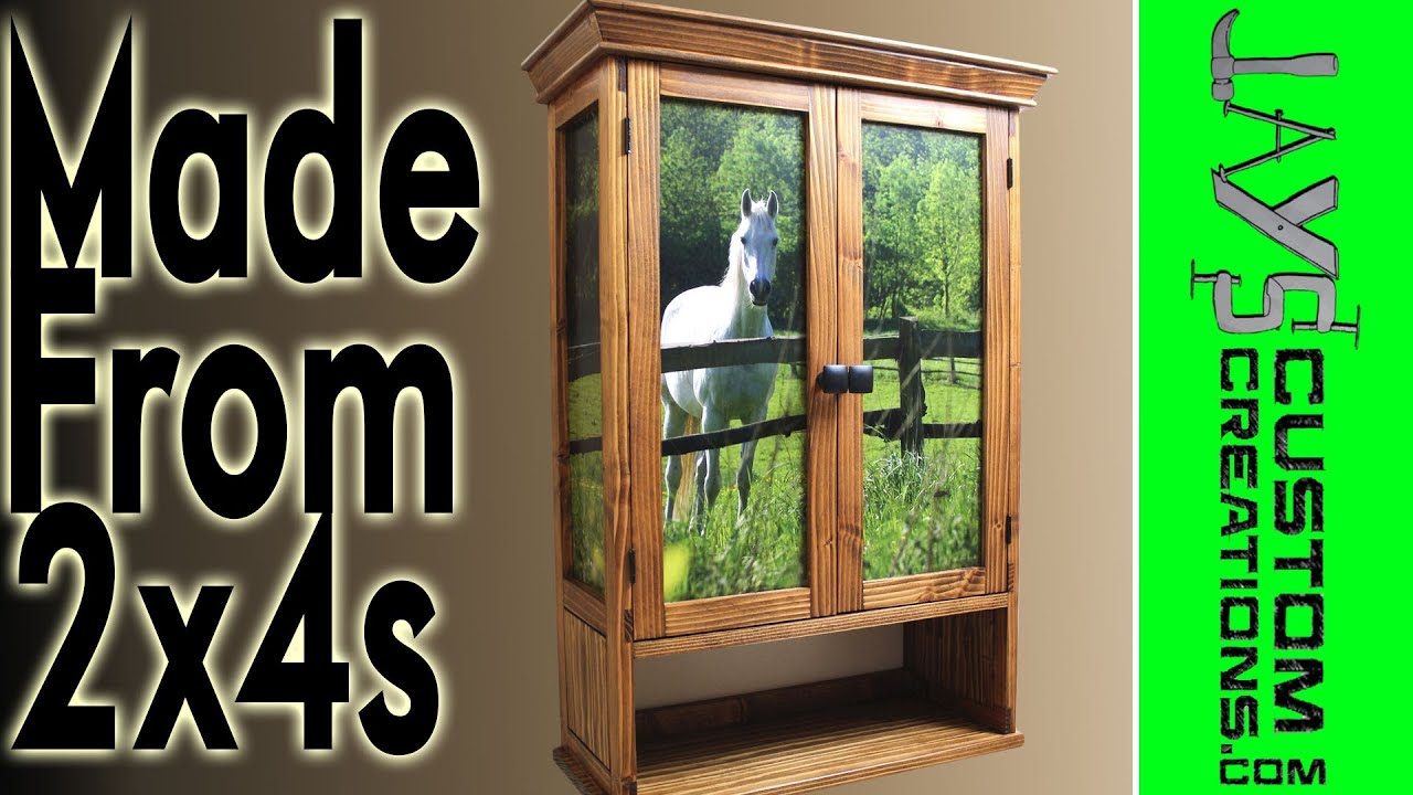 Beautiful Cabinet from 2x4s - 111 - YouTube