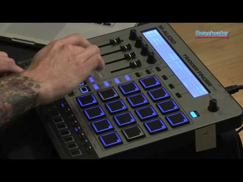 M-Audio Trigger Finger Pro Control Surface Demo - Sweetwater Sound