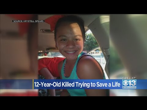 12-Year-Old Girl Killed Trying To Save A Life from YouTube · Duration:  2 minutes 37 seconds