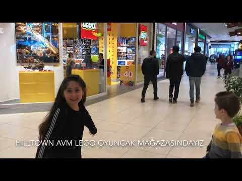 Lego Mağazasını Geziyoruz Vlog / Şimalkidstv eğlenceli vlog / oyuncakçı gezdim Hilltown AVM