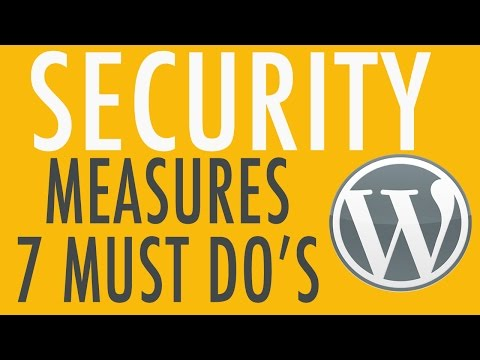 7 Security Tips for your WordPress Website