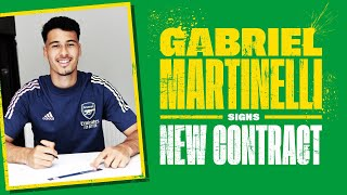 🇧🇷gabriel Martinelli Signs New Contract! | Full Interview