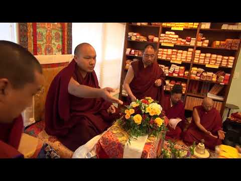 H.H. 17th Gyalwang Karmapa Ogyen Trinley Dorje's Visit To Gampopa Center