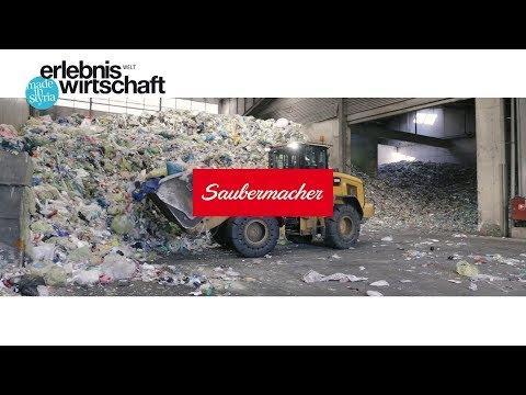Erlebniswelt Wirtschaft: Erlebnistour Saubermacher Kunststoffsortieranlage